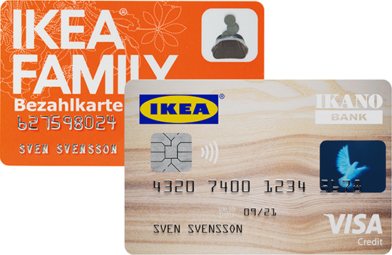 ikea family bezahlkarte mit allen ikea family vorteilen ikano bank. Black Bedroom Furniture Sets. Home Design Ideas